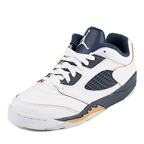 NIKE Boy's Jordan 5 Retro Low Basketball Shoe
