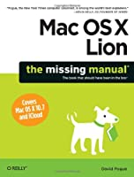 Mac OS X Lion: The Missing Manual Front Cover