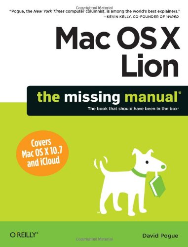 Do It Yourself Photobooth (Mac OS X Lion: The Missing Manual (Missing)