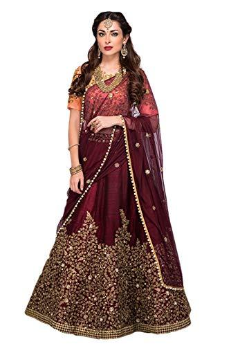 REKHA Ethinc Shop Bridal Embroidery Work Indian Bollywood Designer Lehenga Choli A330 Blue