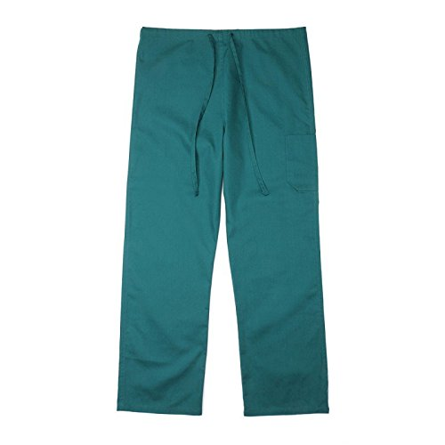 Pinnacle Textile SP61U 4.25 OZ 65/35 Polyester/Cotton, UNISEX NON REVERSIBLE SCRUB (Xs Reversible Unisex Pants)