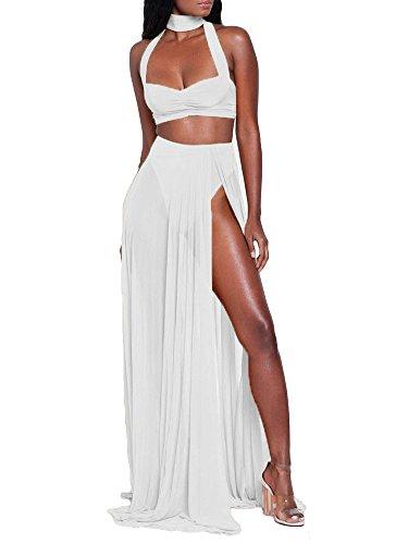 Sexy Women Summer Long Maxi Beach Chiffon Dress - 5