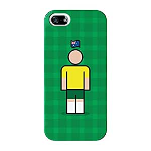 Australia Full Wrap High Quality 3D Printed Case for iPhone 5 / 5s by Blunt Football International + FREE Crystal Clear Screen Protector