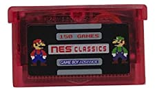150-in-1 NES Classics Collection for GBA Nintendo Gameboy Advance multicart