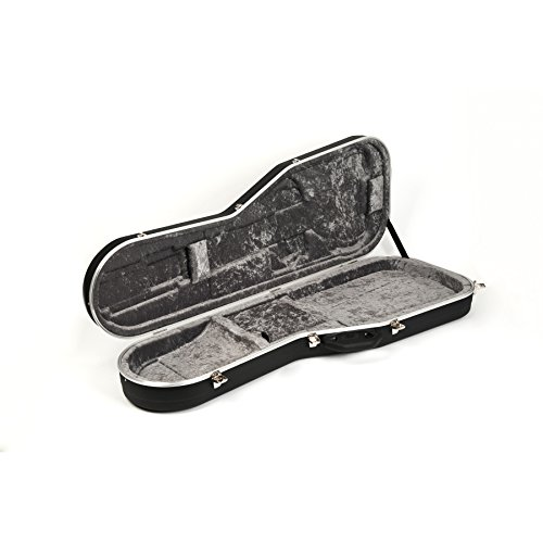[해외]Hiscox Pro-II-EF 범용 일렉트릭 기타 케이스 - 검정 빨강/Hiscox Pro-II-EF Universal Electric Guitar Case - Black Red
