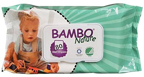 Bambo Nature | Baby Wipes | 4 x 80s Abena
