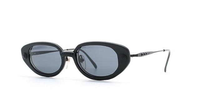 1c5ed1cb7 Jean Paul Gaultier 56 7205 4 Black Authentic Women Vintage Sunglasses