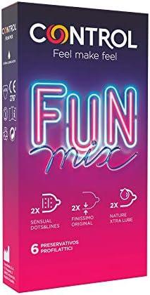 Control Preservativos Sensual Fun Mix – Caja
