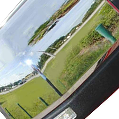 1 Pair Replacement for Replacement F150 2015 Triple ABS Chrome Rearview Mirror Shell Cover Side View Protection Cap by Topker (Image #4)