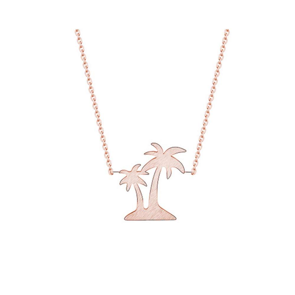 WLLAY Tiny Palm Tree Beach Bracelet Bangle Summer Style Jewelry