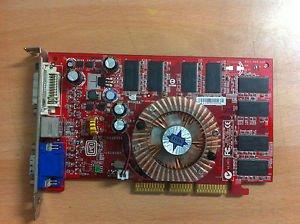 - MSI FX5500-TD256 MSI-FX5500-TD256-256MB-AGP-DVI-VGA-TV-OUT