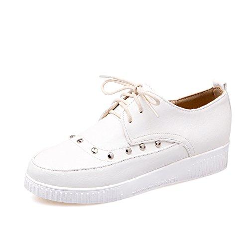 Alrededor de la cabeza con zapatos de encaje profundo/remache zapatos bajos/Zapatos del estudiante C