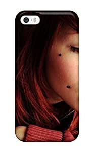 Excellent Design Girl With Face Earrings Women People Women Case For Sam Sung Note 4 Cover