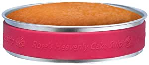 Rose Levy Beranbaum's Heavenly Cake Strip, FDA-Approved Silicone, Fits 9-Inch Round and 8-Inch Square Cake Pans