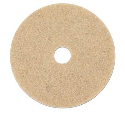 (Ultra High-Speed Natural Hair Extra Floor Pad 21 Diameter Tan 5/carton )