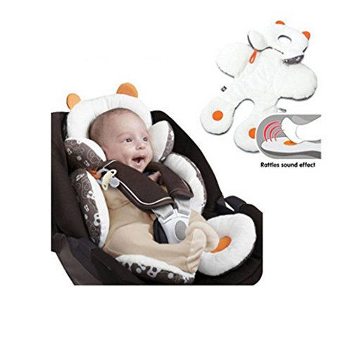 Candora Baby Car Seat Pram Pushchair Stroller Safety Soft Cushion Pad Head Body Support Pillow (S) by Candora