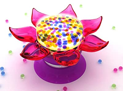 Flower Power Light Show from Orbeez