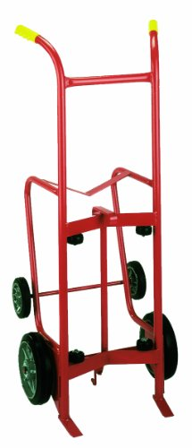 Wesco-240006-Standard-Series-Steel-Drum-Truck-Polyolefin-Wheels-1000-lb-Load-Capacity-24-Width-x-56-Height-x-20-12-Depth