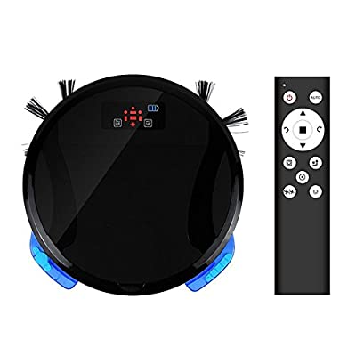 PAKWANG 330A Robotic Vacuum Cleaner with Strong Suction Auto Recharge & Anti Falling Function