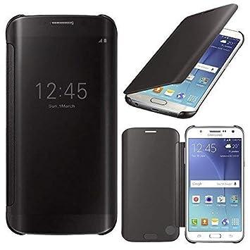 VCOMP Carcasa Funda Negro de Vista Cover para Samsung Galaxy J5 sm-j500 F/j500fn (No Compatible Galaxy J5 (2016))