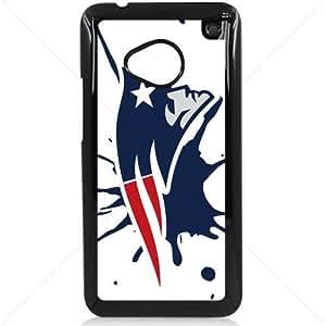 NFL American football New England Patriots HTC One M7 Hard Plastic Black or White case (Black)