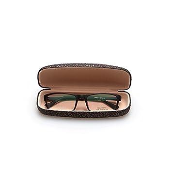 Westeng Custodia per occhiali rigida in metallo scatola di deposito di occhiali Myopia Box compressione sostenibile 16*4.5*4.5 cm nero
