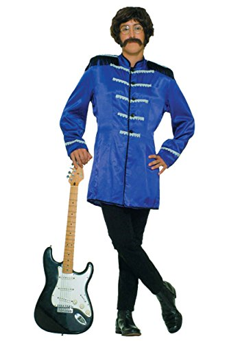 British Explosion Costumes (Forum Novelties Mens Retro British Explosion Blue Theme Party Fancy Costume, One Size)