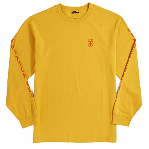 t Frame Long Sleeve T-Shirt - Yellow - SM ()