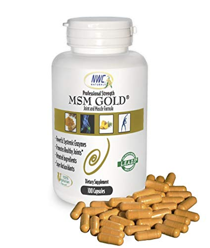Msm Gold Systemic Enzyme 100ct bottle