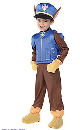 Nickelodeon Paw Patrol Chase Boys Child Halloween Costume Small 4-6 - Nickelodeon Halloween Costumes