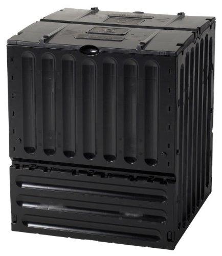 Tierra-Garden-627004-Small-Eco-King-Polypropylene-105-Gallon-Composter-Black