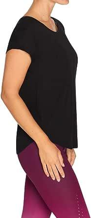 Rockwear Activewear Women's Balance Macrame Keyhole Back Tee from Size 4-18 for T-Shirt Tops