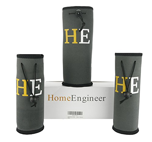 PRODUCT LAUNCH! Just LEAVE A REVIEW! HomeEngineer Bottle Sleeve - Cooler - Holder - Protection Set of 2x16Oz & 1x32Oz by HomeEngineer (Image #5)