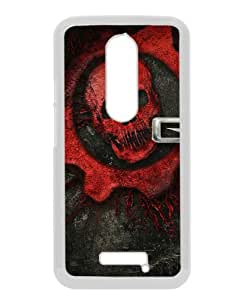 Fashionable design Gears Of War Skull Font Background Name White Moto X 3rd gen Case Cover