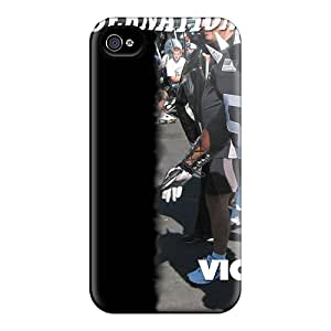 Perfect Cell-phone Hard Covers For Iphone 4/4s With Customized Beautiful Oakland Raiders Series Best-phone-covers