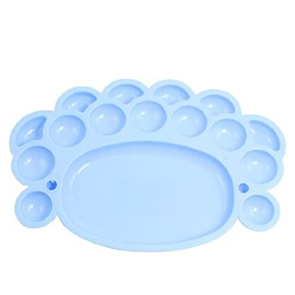 Amazoncom Edealmax étudiants 16 Couleur En Plastique Bleu