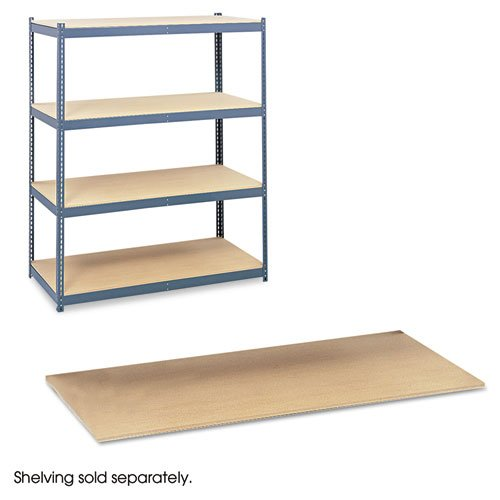 Safco Particleboard Shelves for Steel Pack Archival Shelving, 69w x 33d, Box of 4