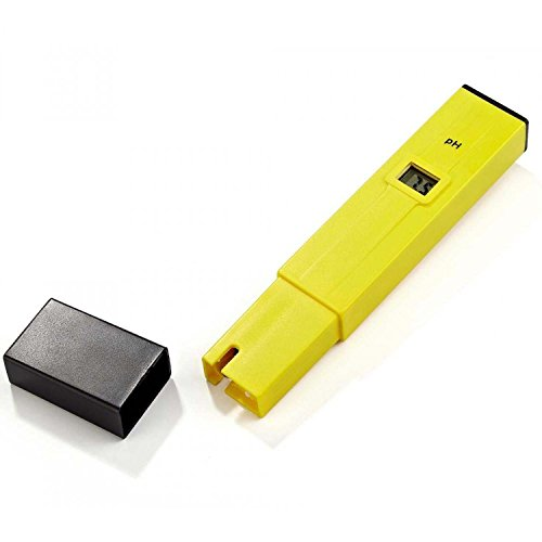 YHKJ 0.1pH PH002 High Accuracy pH Meter/pH Pen Tester with ATC LCD 0-14 pH Measurement Range-Digital pH Tester by YHKJ