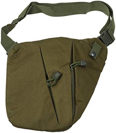 [해외]LIOOBO 학생용 가방 남성용 다기능 기울기 하는 도중 가방 인기 수납 도난 방지 가방 (그린) / LIOOBO Shoulder Bag Men`s Multifunction Diagonal Hanging Bag Popular Storage Anti-Theft Bag (Green)
