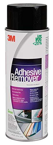 - 3M (Adh Remover) Adhesive Remover - Low VOC <20% Clear, Net Wt 18.7 oz, 12 cans per case [You are purchasing the Min order quantity which is 12 CANS]