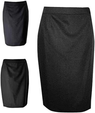 Austin Reed New Ex Ladies Womens Formal Suit Wool Pencil Skirt Uk 14 Black Amazon Co Uk Clothing