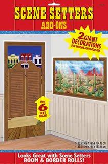 Western Door and Desert Window Scene Setters (Western Scene Setters)