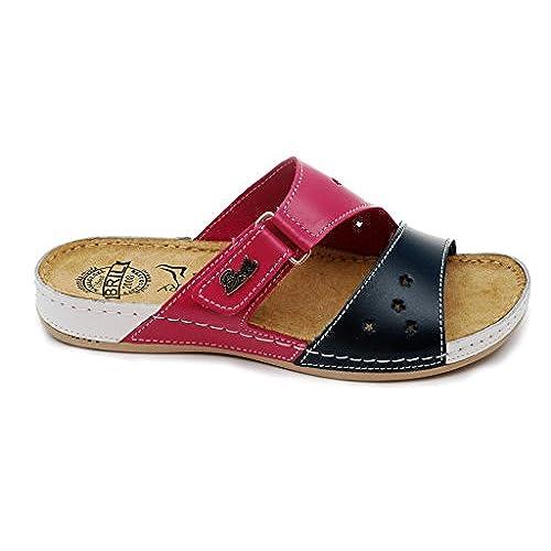 HAIZHEN chaussures pour femmes Pantoufles de mode féminine féminin Sandales de plage Sandales à talons hauts féminins Pantoufles antidérapantes de 18 à 40 ans Pour femmes a9XwUeq