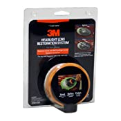 3M Headlight Restoration Kit to Restore Dull/ Faded/ Discoloured Headlights: Amazon.co.uk: Car & Motorbike