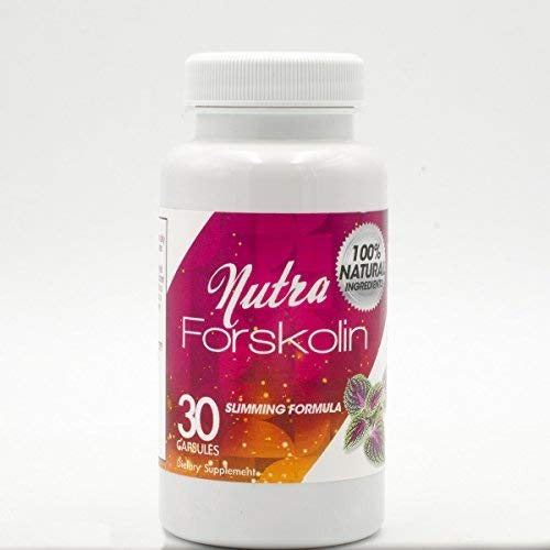 Nutra Forskolin- 100% Natural Ingredients(Best Coleus Forskohlii on the Market) - Safe Weight Loss Supplement for Women & Men