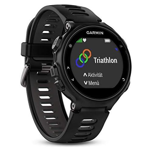 chollos oferta descuentos barato Garmin 735XT Forerunner Reloj multisport con GPS Unisex adulto Negro Black Grey M