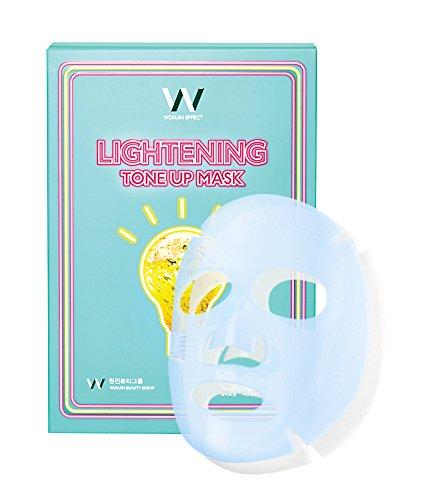 WONJINEFFECT Lightening Tone-up Mask - 10 sheets x 1.05oz.