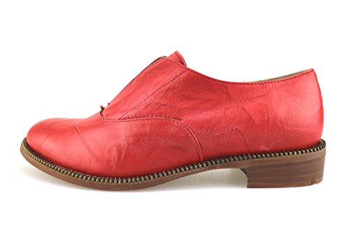 Classiche Crown AG225 Donna Pelle Rosso pdOw0dq