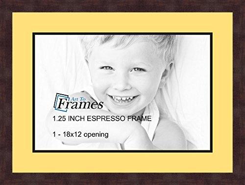 espresso frame 18x22 - 2