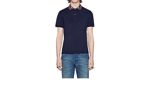 Gucci - Polo de Algodón para Hombre (MNO453865X5P94): Amazon.es ...